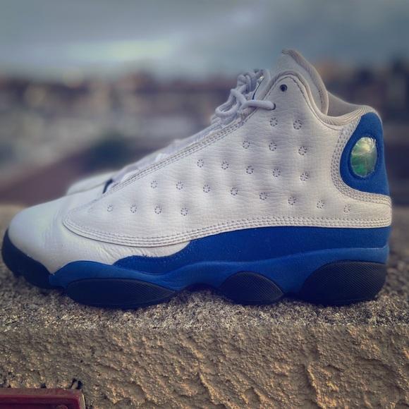 Jordan Shoes Air Retro 13 Hyper Royal Size 9 And 7 Poshmark